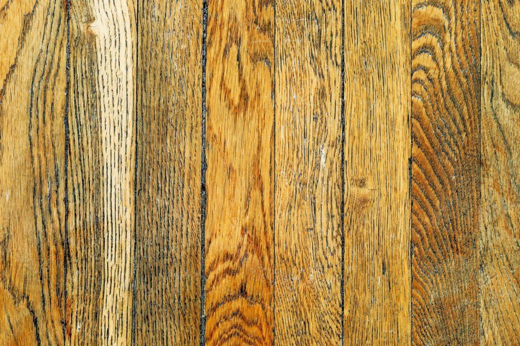 Aged parquet floor. Natural oak tree texture.