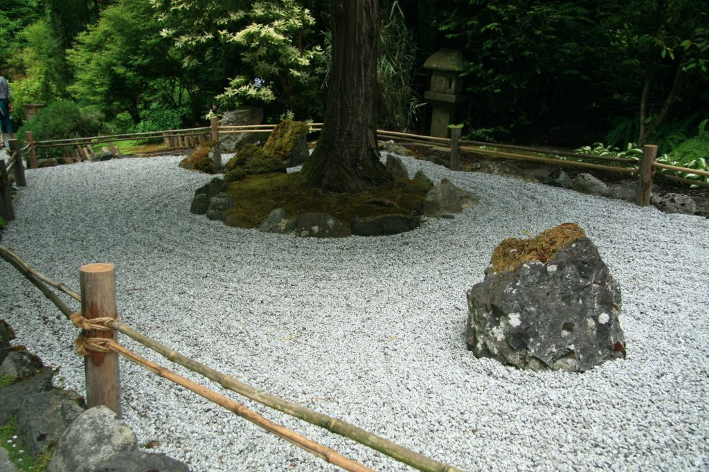 Jardin zen - Butchart Gardens, Victoria, BC, Canada